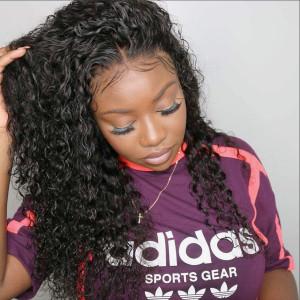 Elva Hair 150% Density Brazilian Hair Full Lace Human Hair Wig Curly Hair (Y75)
