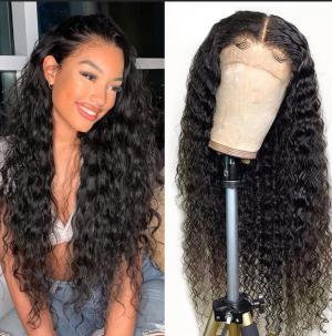 Elva Hair 180% Density Natural Wave Brazilian Hair 360 Lace Frontal Human Hair Wigs (Y53)
