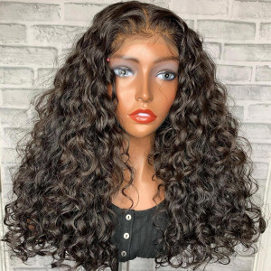 What A Stunning Look! Want To Slayyyy? Buy Now, Pay Later! Virgin Human Hair 13x6 Lace Front Wigs Pre Plucked  (w783)