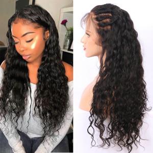 Elva Hair 2019 New Brazilian Deep Wave 370 Lace Wigs 150 Density (W160)