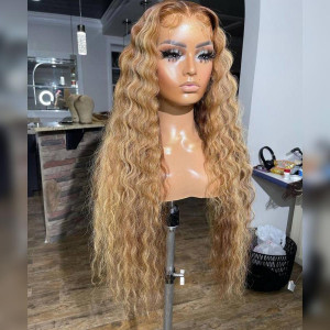 That Shine To The Hair Means Everything! Buy now, Pay later! Virgin Human Hair 13x6 Lace Front Wigs Pre Plucked  (w768)