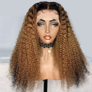 The Perfect Wig For Fall! Buy Now, Pay Later! Yonce Wig Virgin Human Hair Water Wave 13x6 Lace Front Wigs Pre Plucked With Baby Hair (w391)