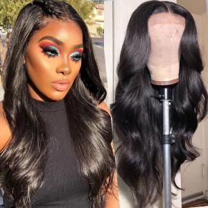 Elva Hair 150% Density Brazilian Hair Body Wave 13x6 Lace Front Wigs (Y121)