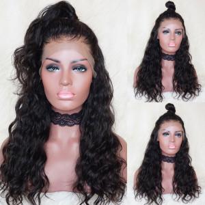 Elva Hair 150% Density Brazilian Hair Natural Wave 13x6 Lace Front Human Hair Wigs(Y24)