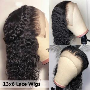 Elva Hair 150% Density Brazilian Hair Curly Full Lace Wigs (Y115)